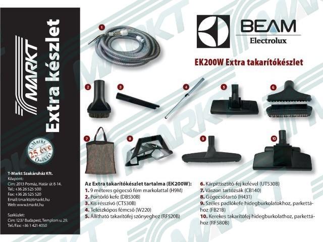 BEAM EXTRA Takarítókészlet (9 m)