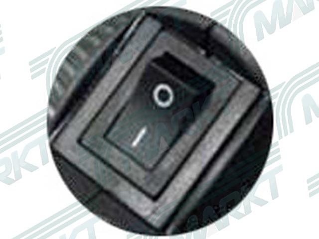 Kapcsolós gégecső bekapcsoló gomb H9BK-hoz, fekete